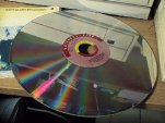 One of the two Domesday laserdiscs