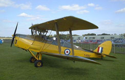 Tiger Moth G-ANTE, RAF Serial No. T6562. Owned by Paul Reading.